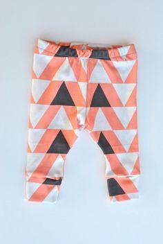 Organic Triangle Arrow Leggings children door ThisFreckledGirl, $30.00