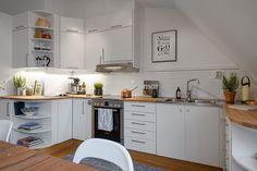 All white kitchen All White Kitchen, Kitchen Paint Colors, Compact Kitchen, Blog Deco, Cuisines Design, Kitchen Organization, Decoration, Kitchen Design, Kitchen Ideas