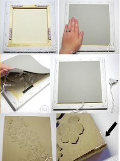 DIY Backlit Canvas Art Tutorial