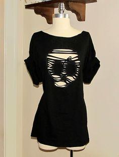 Black Skull Tee-Shirt