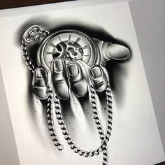 """Working on this cool """"time piece"""".  - http://ift.tt/1HQJd81 Time Piece Tattoo, Pieces Tattoo, Time Tattoos, Wolf Tattoos, Leg Tattoos, Body Art Tattoos, Tattoos For Guys, Tattoos For Women, P Tattoo"""