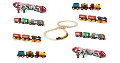 Learn to count with the train numbers game