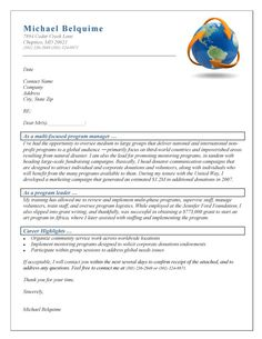 40 Best Cover Letter Examples images   Cover letter for resume ...