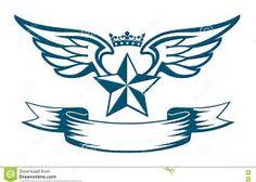 ผลลัพธ์รูปสำหรับ Star with Wings Tattoo Designs
