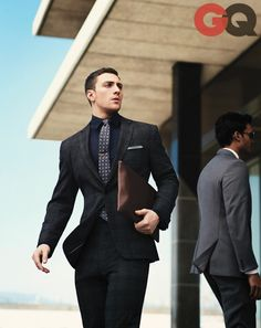Aaron Taylor-Johnson for GQ Magazine September 2013 Sharp Dressed Man, Well Dressed Men, Taylor Jackson, Traje Casual, Aaron Taylor Johnson, Look Man, Plaid Suit, Checkered Suit, Hommes Sexy