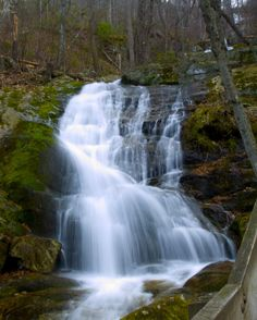 9. Hike up the tallest waterfall in Virginia.