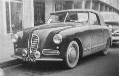 1950 ŠKODA 1102 Pennock Cabriolet - a photo on Flickriver Badge Creator, Czech Republic, Prague, Vintage Cars, Automobile, River, Photos, Car, Badge Maker