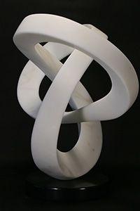 SPERANZA 'Hope' Italian Statuario Marble 24in.x 26in.x 15in.