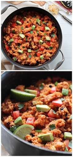 One Pot Mexican Chicken and Couscous Recipe