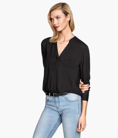 Long Sleeved Blouse | H&M US