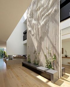 Sometimes the interior design can be as interesting as the exterior architecture. The contemporary elements of interior design, however, are […] Lobby Design, Parametrisches Design, Home Design, Wall Design, Atrium Design, Screen Design, Design Hotel, Display Design, Design Elements