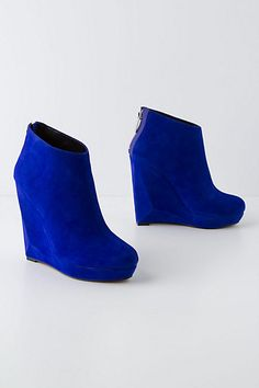 Pyramid Wedge Booties #anthropologie    SAY WHAT!  Have to have these.  wow.