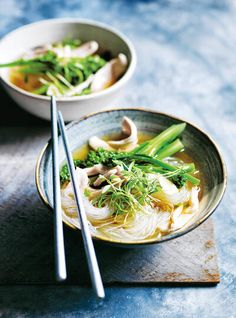This asian-style chicken soup is infused with star anise, cinnamon and ginger. Treat your tastebuds with this easy and delicious recipe. Chorizo Soup Recipes, Coconut Soup Recipes, Onion Soup Recipes, Spicy Recipes, Turkey Recipes, Asian Recipes, Cooking Recipes, Healthy Recipes, Ethnic Recipes
