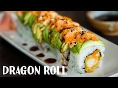 Dragon Roll Recipe • Just One Cookbook