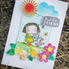 Hellow friend  Penny black stamps   #cardmakinghobby #paperarts #watercoloring #penyblackinc #betsybluebellstamp #card#craft #손그림 #로이공작소 #원데이클래스 #카드메이킹 #페이퍼크레프트 #페이퍼아트 #스탬프아트카드 #수제카드 #기념일카드 #이벤트카드 #프로포즈카드#생일카드#로이공작소