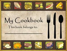 Similar Galleries Cookbook Clipart Covers Free