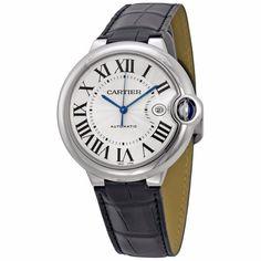 Cartier Men's W69016Z4 'Ballon Bleu' Automatic Black Watch   juwelier-haeger.de