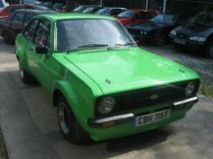 1978 Ford Escort Mk2 - probably one of the better British cars!