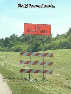 End boring area
