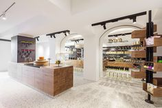 Lingenhel Vienna - Shop, Bar, Restaurant and Cheese Dairy Shop Interior Design, Retail Design, Store Design, Design Shop, Restaurant Bar, Brighton, Shops, Cheese Shop, Commercial