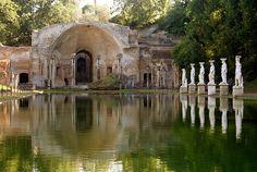 Villa Adriana (Hadrian Villa), Tivoli, Italy