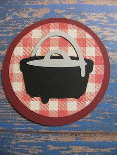 Campin Critters Badge - Pot - Cookout