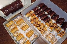 Pastry Basket, Dream Cake, Eclairs, Cookies, Carrot Cake, Superfood, Donuts, Carrots, Sausage