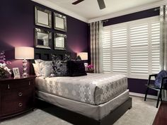 Benjamin Moore Pion Plum Is One Of The Best Purple Paint Colours Without Being Too Bright