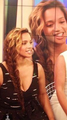 Beautiful hair on Dascha Polanco.