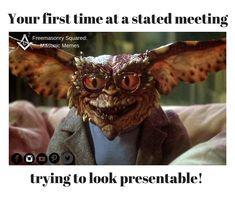 Masonic Memes: looking presentable  #freemasonrysquared #freemasonry #history #facts #squareandcompass