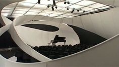 JS Bach / Zaha Hadid Architects Music Hall © Zaha Hadid Architects
