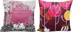 Moomin pillow covers designed by Masaru Suzuki Pillow Cover Design, Pillow Covers, Tove Jansson, Plushies, Pillows, Detail, House, Block Prints, Pillow Case Dresses