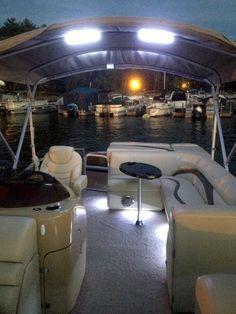 Pontoon boats accessories water ideas for 2019 Pontoon Boat Party, Pontoon Boats, Boat Bbq, Pontoon Houseboat, Boat Dock, Boat Navigation Lights, Pontoon Boat Accessories, Camping Accessories, Boat Organization
