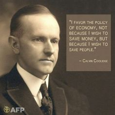Fishermagical Thought: Calvin Coolidge