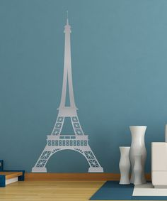 Look at this Eiffel Tower Decal on #zulily today!