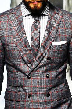 Men's Fashion: great suit and tie Gentleman Mode, Gentleman Style, Sharp Dressed Man, Well Dressed Men, Suit Fashion, Mens Fashion, Style Masculin, Look Man, La Mode Masculine