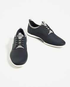 ZARA - MAN - BLUE SNEAKERS