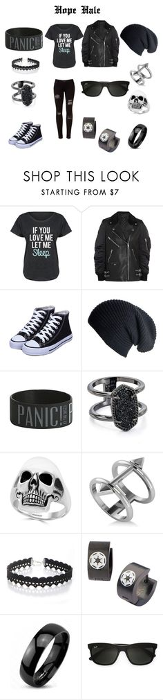 """Everyday Outfit"" by supernerdgirl300 on Polyvore featuring LC Trendz, Alexander Wang, Black, Kendra Scott, Effy Jewelry, Allurez, WithChic, West Coast Jewelry and Ray-Ban"