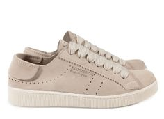 Mr. Perry, 'phat' lace sneaker in stone castoro. | Pedro Garcia Men's Capsule Collection Shoes Spring-Summer 2015 | Made in Spain