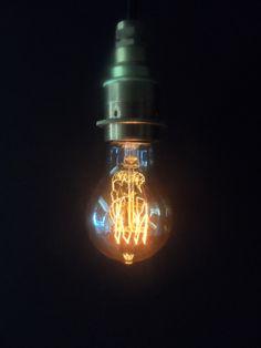 Vintage Fourloop Lightbulb by Tony Miles