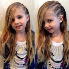 Little Girl Hairstyles on TRHS Cute Hairstyles for Little Girls, Kids Hairstyles Childrens Hairstyles, Baby Girl Hairstyles, Hairstyles Haircuts, Braided Hairstyles, Hairdos, Cool Hairstyles For Girls, Toddler Hairstyles, Popular Hairstyles, Latest Hairstyles