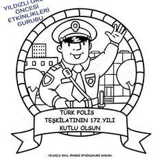 22 En Iyi Polis Haftası Görüntüsü Community Helpers Preschool
