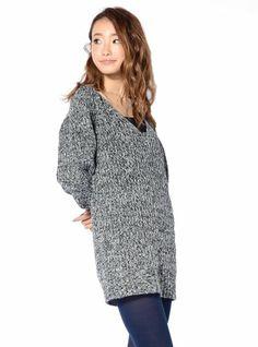Amazon.co.jp: Vネック ニットワンピース ニットチュニック チュニックワンピ 6カラー107069: 服&ファッション小物