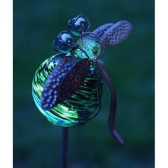 Your garden will be captivating both day and night when you accessorize with the Echo Valley Illuminarie Dragonfly Stake . This luminescent garden stake. Decorative Garden Stakes, Solar Garden Stakes, Lawn Ornaments, Garden Ornaments, Moon Garden, Animal Rescue Site, Tear, Garden Crafts, Garden Ideas