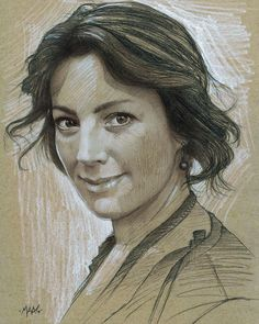 One more #TBT from the sketchbook today the amazing @officialsarahmclachlan  I was fortunate enough to attend one of Sarah's early concerts - after which a few friends and I spent some time with her - many many moons ago. I have been inspired by her music for so many years and it seemed only fitting to do this portrait of her as a thank you.  The sketch is done in graphite conte and charcoal on toned tan @strathmoreart paper.  #art #draw #drawing #sketch #sketching #fanart #fineart #maasart…