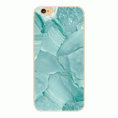 NEW teal marble iPhone 6/6S hard case Beautiful ocean teal marble design. Case has clear edges. Nice, hard matte plastic. Price is for 1 case. All orders come with a free gift!  no trades Accessories Phone Cases