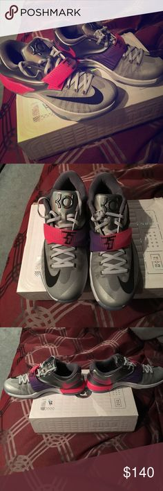 💲LOWERED PRICE💲NIKE MENS KD 7 ONLY WORN ONCE! Price is firm!! Shoes are fairly rare and were listed at a higher price prior; this is the lowest I will go. Nike Shoes Athletic Shoes