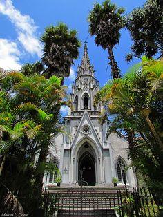 Igreja Luterana estilo Gótico. TrekkBrasil: Petrópolis - RJ