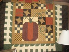 Fall Table Runner Quilt Pattern | Fall Quilts | Patches & Prints