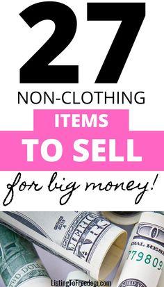 Ebay Selling Tips, Selling Online, Make Money Fast, Make Money From Home, Midlife Crisis, Money Makers, Eleanor Roosevelt, Post Pregnancy, Frugal Tips